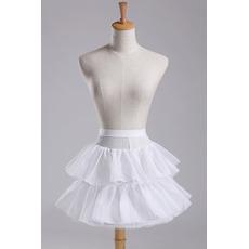 Petticoat de mariage Taille elastique Diamètre Coupe de dentelle