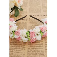 Coiffure cheveux hoop ornement de cheveux mariage voyage dentelle enfants princesse dentelle bracelet