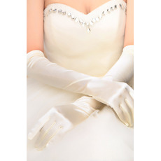 Gants de mariage Chaud Spandex Longue Simple Salle Approprié