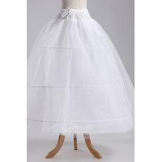 Petticoat de mariage la norme Deux paquets Longue À la mode Taffetas en polyester