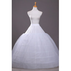 Petticoat de mariage Diamètre Chaîne Robe pleine Ajustable Élégant