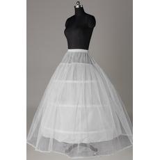Petticoat de mariage Robe de mariée Longue Fort net Taille elastique
