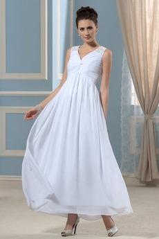 Robe de soirée Fête Longueur Mollet Ruché Taille haute Maternité
