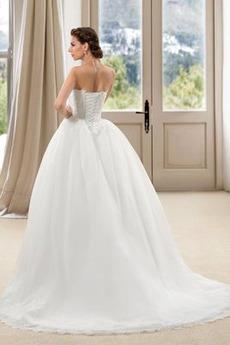 Robe de mariée Hiver Sans Manches A-ligne Chaussez Eglise Naturel taille