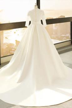 Robe de mariage Décalcomanie Trou De Serrure Manche de T-shirt