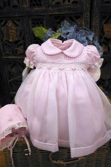 Robe de fille de fleur Longue Princesse Formelle Chapeau Lanterne
