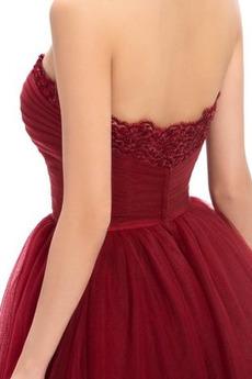 Robe de cocktail Fermeture à glissière Drapé Longueur de genou