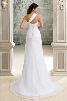 Robe de mariée Sans Manches De plein air A-ligne Manquant Fleurs