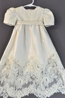 Robe de fille de fleur Cérémonie Norme Petit collier circulaire