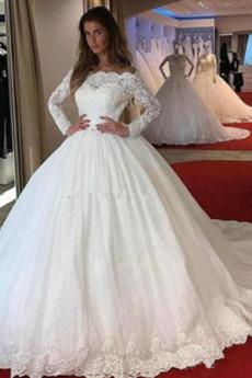 Robe de mariée Rosée épaule Décalcomanie Glissière Froid Plage