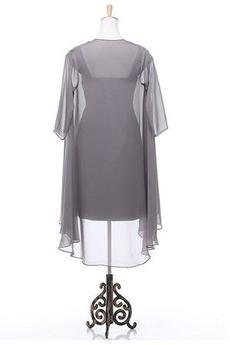 Robe mères Avec la veste Désinvolte Longueur de genou rider Un Costume