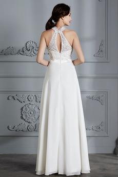 Robe de mariée Mode Dentelle Longueur de plancher De plein air