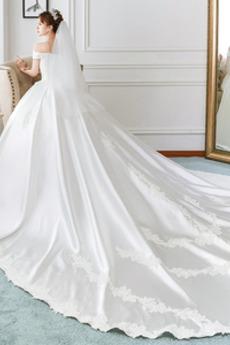Robe de mariée Hiver Mancheron Manquant Naturel taille Eglise