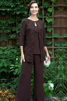Robe mères Vintage Un Costume Naturel taille Longueur Cheville