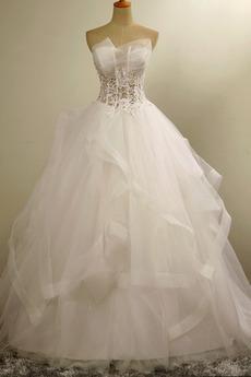 Robe de mariée Traîne Courte A-ligne Chapelle Sans Manches Printemps