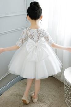 Robe de fille de fleur Fermeture à glissière Cérémonie Attrayant