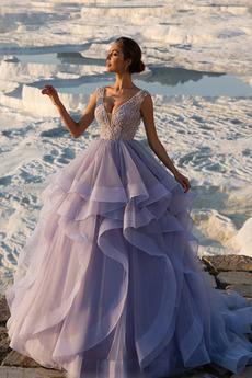 Robe de bal Naturel taille Étoilé Luxueux Fourreau Avec Bijoux