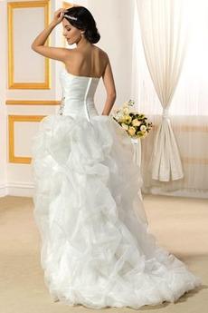 Robe de mariage Luxueux Exquisite De plein air Décolleté Dans le Dos
