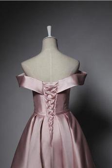 Robe de demoiselle d'honneur Sexy haut bustier tube Norme Rose