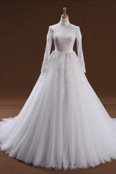 Robe de mariée Vintage Perle Gazer Multi Couche Petites Tailles