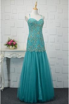 Robe de bal Sirène Fourreau Avec Bijoux Perle Luxueux Printemps