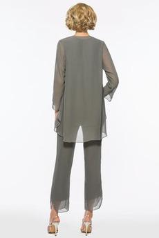 Robe mères Un Costume Ample & Ornée Manquant Avec des pantalons