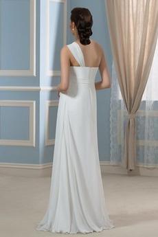 Robe de mariage Traîne Courte Fermeture à glissière De plein air