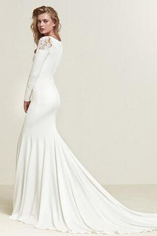 Robe de mariée Simple Naturel taille Petites Tailles De plein air