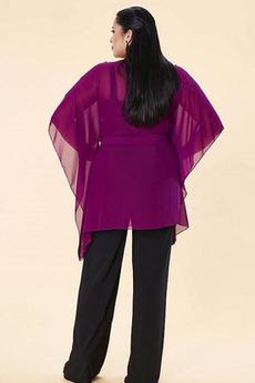 Robe mères Un Costume Automne Haute Couvert Manche Courte Avec des pantalons