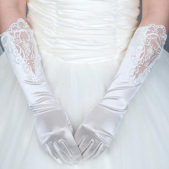 Gants de mariage Romantique De plein air Dentelle Doigt entier - Page 1