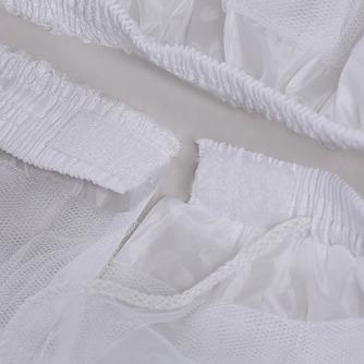 Petticoat de mariage Court À la mode Fort net Sans cadre Longue - Page 2