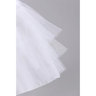 Petticoat de mariage Court À la mode Fort net Sans cadre Longue - Page 3