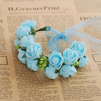 Double couche bijoux décoration de cheveux pour la photographie de mariage anneau doux - Page 2