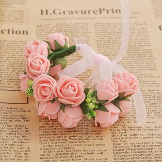 Double couche bijoux décoration de cheveux pour la photographie de mariage anneau doux - Page 9