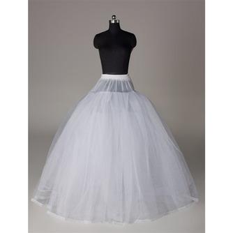 Petticoat de mariage Élégant Fort net Sans cadre Robe pleine - Page 1