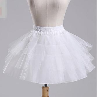Petticoat de mariage Court À la mode Fort net Sans cadre Longue - Page 1