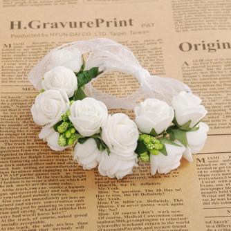 Double couche bijoux décoration de cheveux pour la photographie de mariage anneau doux - Page 1