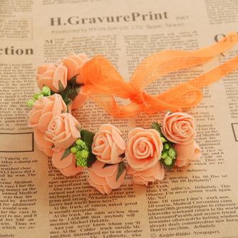 Double couche bijoux décoration de cheveux pour la photographie de mariage anneau doux - Page 5