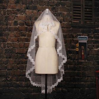 Voile de mariée Traîne Courte Désirable Ivoire Perspectif Salle - Page 1