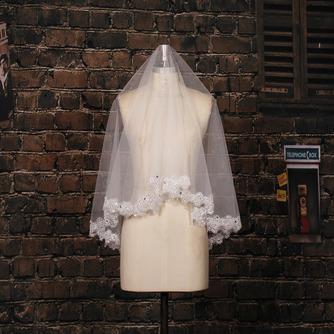 Voile de mariée Traîne Courte Désirable Ivoire Perspectif Salle - Page 2