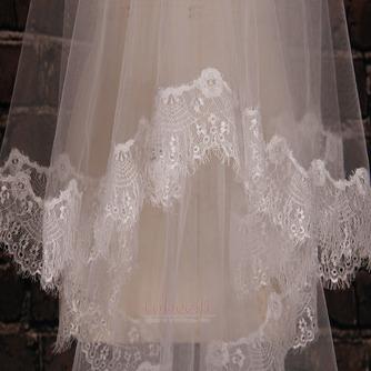 Voile de mariée blanc Automne Eglise Longue Décalcomanie Longue - Page 4