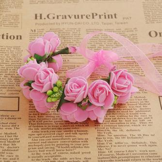 Double couche bijoux décoration de cheveux pour la photographie de mariage anneau doux - Page 8