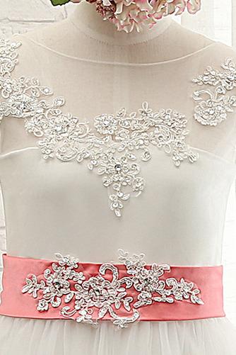 Robe de fille de fleur Sans Manches Col de chemise t Nœud à Boucles - Page 3