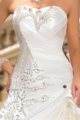 Robe de mariée Hiver Scintillait Princesse Asymétrique Satin - Page 8