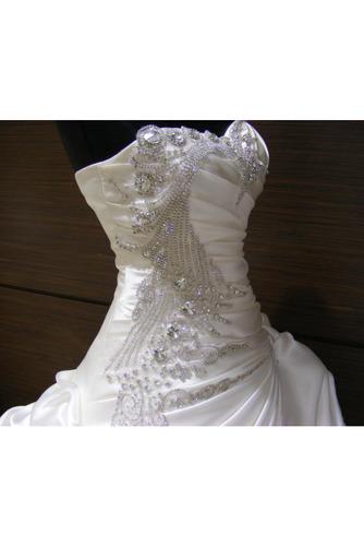 Robe de mariée Hiver Scintillait Princesse Asymétrique Satin - Page 2
