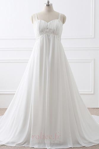 Robe de mariée Grandes Tailles Larges Bretelles Empire Chaussez - Page 1