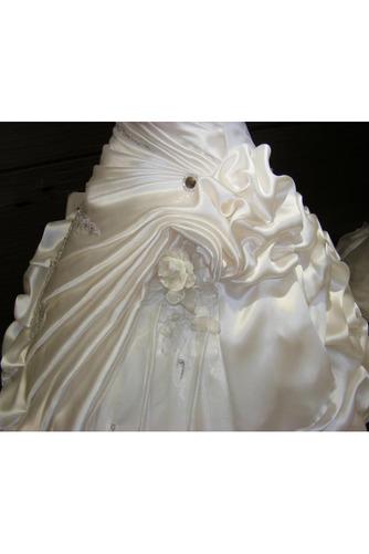 Robe de mariée Hiver Scintillait Princesse Asymétrique Satin - Page 3