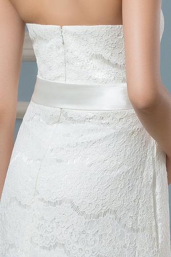 Robe de mariée Dentelle Empire Longueur de plancher Dos nu haut bustier tube - Page 4