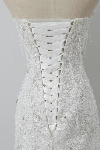 Robe de mariée Tulle Norme Automne Dépouillé Elégant Lacez vers le haut - Page 5