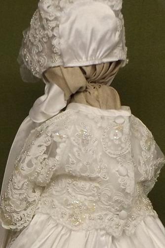 Robe de fille de fleur Cérémonie Manche Courte Automne Longue - Page 2